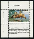 1989 AD-1b Australia Wetlands Conservation Duck Stamp Plumed Whistling Waterfowl