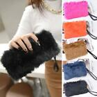 Fashion Women's Elegant Clutch Bag Faux Fur Handbag Wallet Candy TXCL01 03