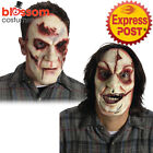 AC247 Serial Killer Horror Mask Bloody Eye Scar Face Leatherface Halloween Scary