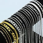 Wholesale Wedding 925 Silver Gold Rolo Curb Figaro Wave Chain Necklace 16''-30'