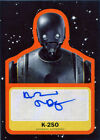 Star Wars Journey to Last Jedi Autograph Card A-AT Orange Alan Tudyk K-2SO 10/25 $243.75 USD on eBay