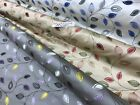 premium quality dutches satin, embroided leaf  design fabric 140cm wide