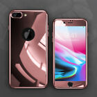LUXURY Hybrid Shockproof Ultra thin Hard Mirror Case Cover For iPhone 8 Plus 6 7