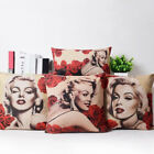 Cushion Cover Cotton Marilyn Monroe Printed Pattern Throw Pillow Case Home Decor