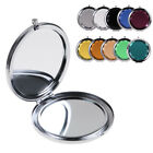 Crystal Folding Round Pocket Compact Travel Makeup Cosmetic Mini Mirror Portable