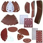 Sanding Belts Pads Discs Sheets Velcro Triangles DA Palm Delta Orbital Sandpaper