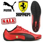 PUMA Drift Cat 5 Scuderia Ferrari Mens Trainers Leather F1 Motorsport Shoes SALE