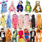 Внешний вид - Baby Kids Pajamas Romper Kigurumi Animal Cosplay Hooded Jumpsuit Outfits Costume