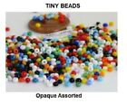 TINY BEADS 11/0 Czech 10-Grams Glass Seed Beads PICK COLOR