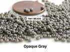 TINY BEADS 11-0 Czech 10-Grams Glass Seed Beads PICK COLOR