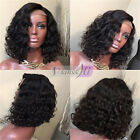Glueless Remy Virgin Human Hair Wigs Full Lace Wig Lace Front Wig Bob Short