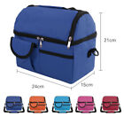 8L Portable Picnic Lunch Box Thermal Insulated Shoulder Bag Ice Cooler Wine Tote