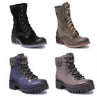 Justin Reece 1200 Women Suede Leather Black Hiker Boots