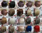 1pcs Blonde Girl Clip in Bangs 100% Hair Front Neat Bang For Women 22colors 20g