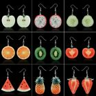Fashion Delicious Fruit Dangle Earrings Hook Women Jewelry Valentine's Day Gift