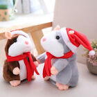 Speaking Nod Hamster Talking Mouse Record Chat Mimicry Pet Xmas Toys Gifts EAUS