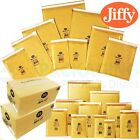 GENUINE JIFFY BUBBLE Bags Airkraft Gold Envelopes Mailers JL0 - 140mm x 195mm