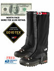 The North Face Gore-Tex Gaiters Summit Series Hiking Black M,L,XL $100 Free Ship