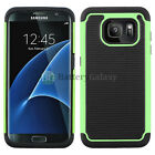 NEW Hybrid Rubber Hard Case for Android Phone Samsung Galaxy S7 Edge 300+SOLD