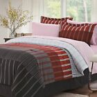 Latitude Run Laurindo Stripe Reversible Bed in a Bag Set
