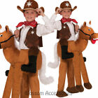 CK658 Ride on A Horse Animal Funny Book Week Boys Kids Child Fancy Dress Costume