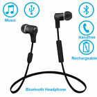 earphone with bluetooth - Bluetooth Earphone Stereo Headset With Mic for Samsung Galaxy S7 S6 edge+ J7 J5