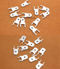20pcs 4.8/6.3mm Male Spade Terminal Connector PCB Mount 0.8mm Thickness