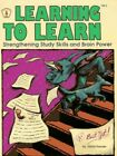 Learning to Learn (Kids Stuff) by Frender  Gloria 0865301417 The Fast Free
