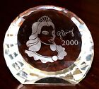 Genuine Retired Swarovski 2000 Crystal Columbine Paperweight 256855 -New & Boxed