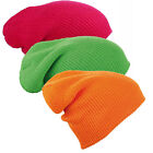 BRIGHT SLOUCH BEANIE COMBO PACK - 3 WARM WINTER BEANIE HATS CAPS - 3 FOR 2 OFFER
