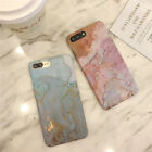 iPhone 6/7 Apple Thin Marble Pattern Hard Phone Case Marble Pattern Cover US