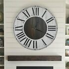 Darby Home Co Oversized Hosea Farmhouse Wall Clock