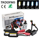 55W HID Xenon Conversion KIT Headlight Canbus Error Free H7 Bulbs + Slim Ballast