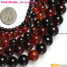 Lot In Bulk Natural Round Agate Stone Beads for Jewelry Making Size/Color Pick
