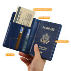 RFID Blocking Travel Passport Cash Pocket  Credit Card Protector Holder WALLET
