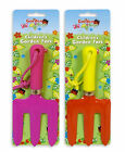 Kids Garden Fork Digging Gardening 2 Colours Strong Durable Handy Strap