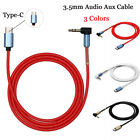 aux cords for cars without aux - 90° Right Angle 3.5mm Male Car AUX Stereo Audio to USB Type-C Adapter Cable Cord