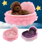 Pet Dog Cat Bed Nest Puppy House Lace Cushion Mat Kennel Sleeping Bag