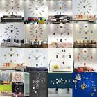 DIY Modern Large Number Wall Clock Mirror Sticker Home Office Decorative Decal