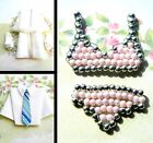 MINIATURE FABRIC OR BEADED CLOTHES SHIRT CRAFT EMBELLISHMENTS CARD TOPPERS