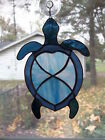 Handmade Stained Glass TURTLE SUNCATCHER (TUR41)