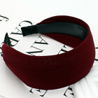 Women Wide Headbands Solid Hairband Simple Girl Party Headwear Hair Accessories