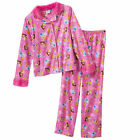 NWT ☀PRINCESS☀ DISNEY Girls Flannel Pajamas  FUR  New   YOU PICK   6    8    $35