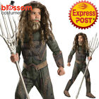 CK1079 Boys Deluxe Aquaman Batman vs Superman Muscle Hero Book Week Kid Costume