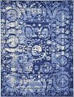 Persian Design Carpet Faded Vintage Style Area Rug Oriental Traditional Soft