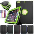 FOR APPLE IPAD Mini 1/2/3, Pro/Air 2 Heavy Duty Builder Shock Proof Case Cover