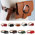 Fashion Small Pu Leather Waist Fanny Pack Bag For Girls & Women Cellphone Pouch