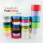 22 Meters 50mm 2in Width Reel Premium Quality Single Faced Sided Satin Ribbons