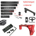 7-15 inch KeyMod Handguard&Nut/rail section/Sling mount/Foregrip Hunting Set