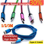 1-3M USB-C Type-C 3.1 Fast Charging Data Charger Cable For Samsung Galaxy S8/S8+